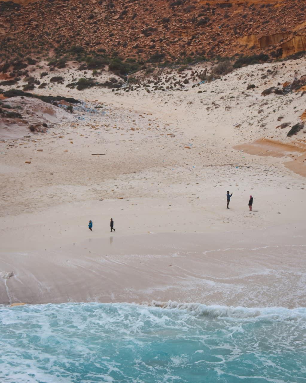 شاطئ عجيبة في مصر