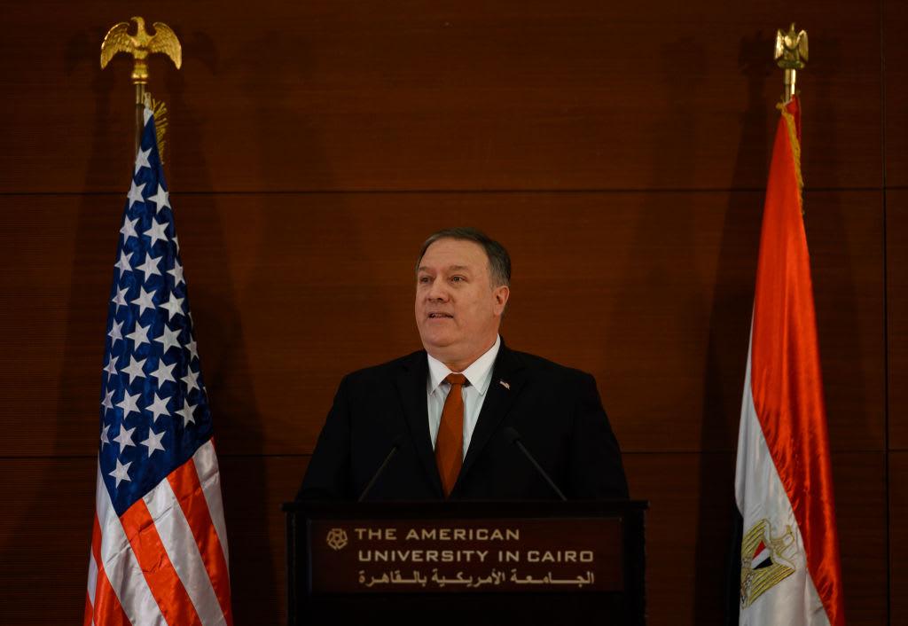 نص خطاب بومبيو في الجامعة الأمريكية بالقاهرة: مصر أرض الكفاح