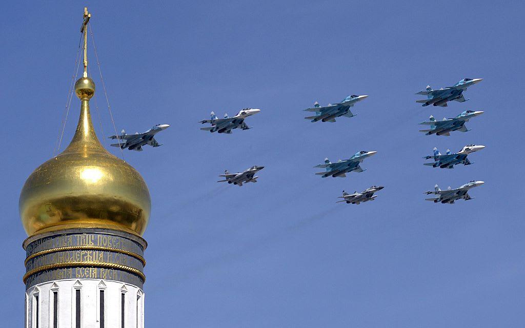 اصطدام مقاتلتين روسيتين في الشرق الأقصى