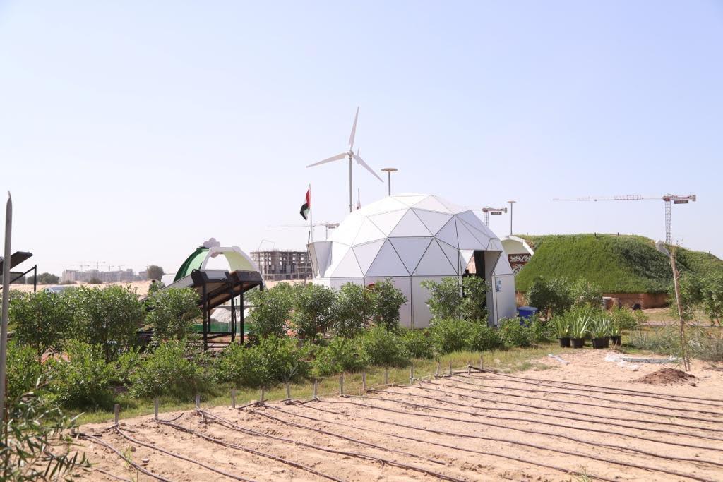 مشروع المنازل الخضراء في الإمارات