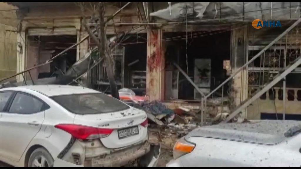 مقتل جنود أمريكيين في تفجير منبج.. لقطات من موقع الهجوم
