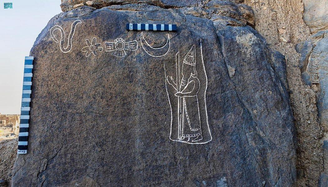 اكتشاف شواهد أثرية للملك البابلي نابونيد في السعودية