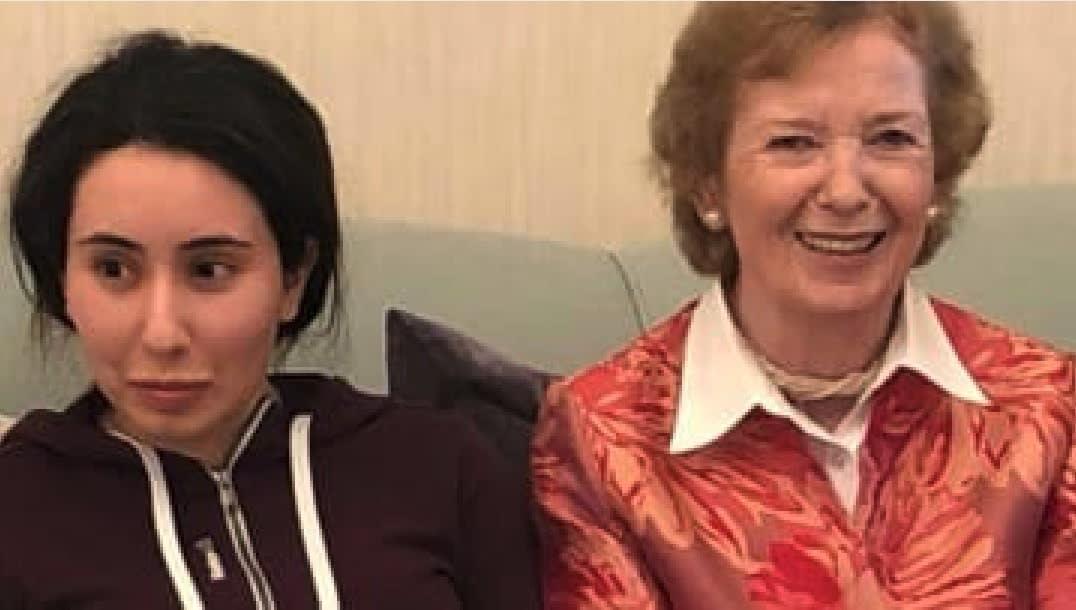 """في مقاطع """"فيديو سرية.. الشيخة لطيفة بنت محمد بن راشد تدعي أنها محتجزة"""