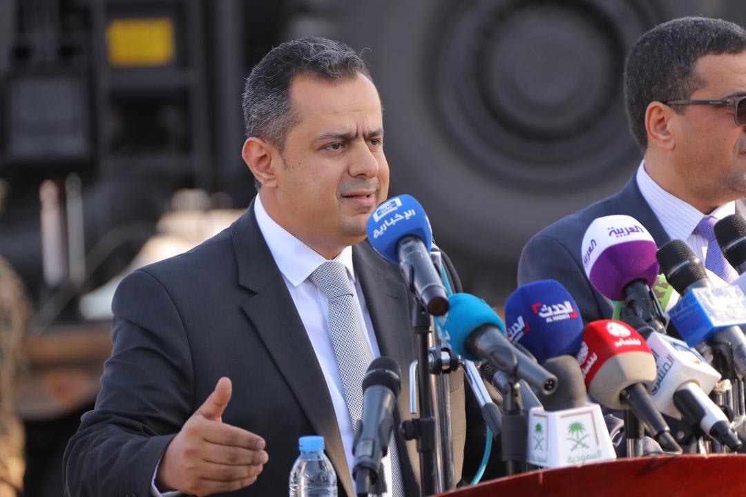 رئيس وزراء اليمن: برامج إعمار ومشاريع تنمية بدعم سعودي إماراتي