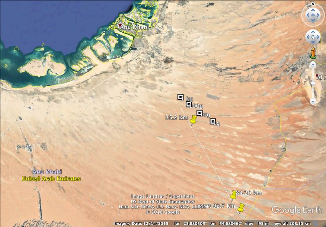 الكرة النارية اللامعة التي شوهدت بسماء الإمارات الثلاثاء الماضي.. ماذا كانت؟