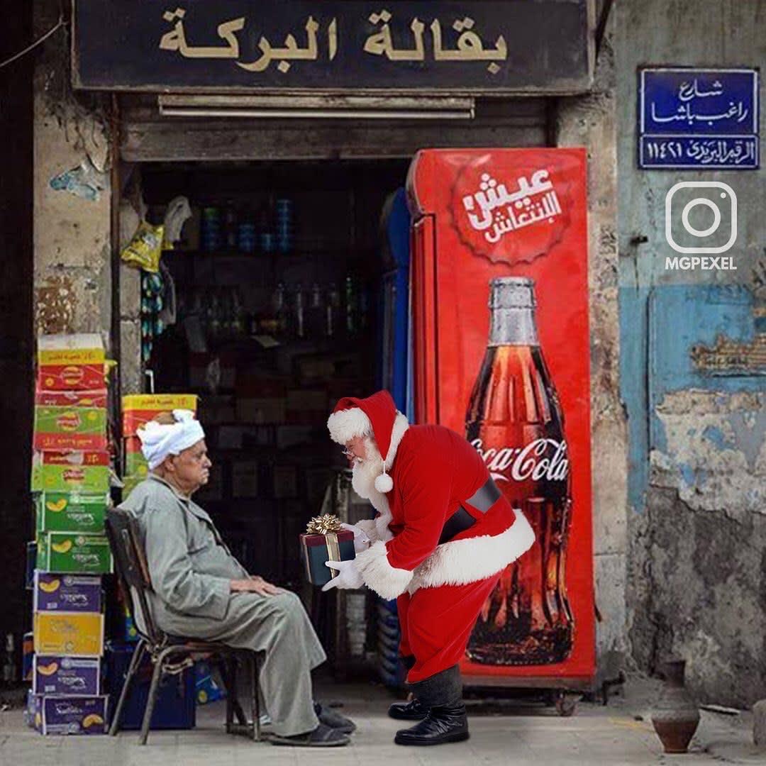 بابا نويل في مصر