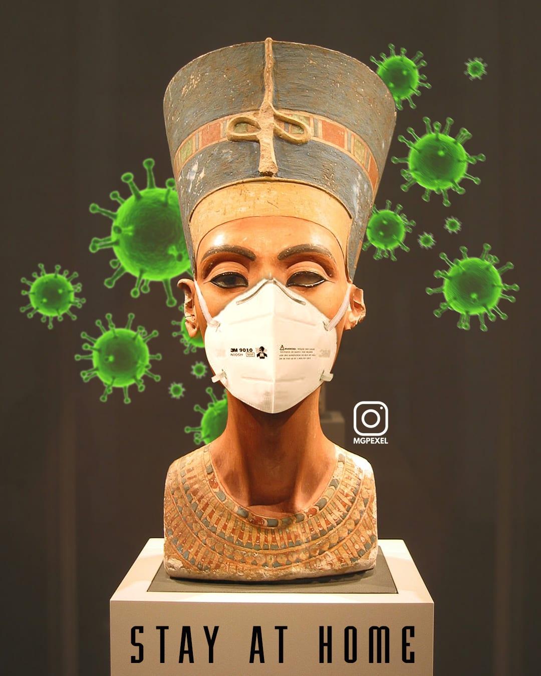 معالم سياحية تشارك في التوعية من فيروس كورونا