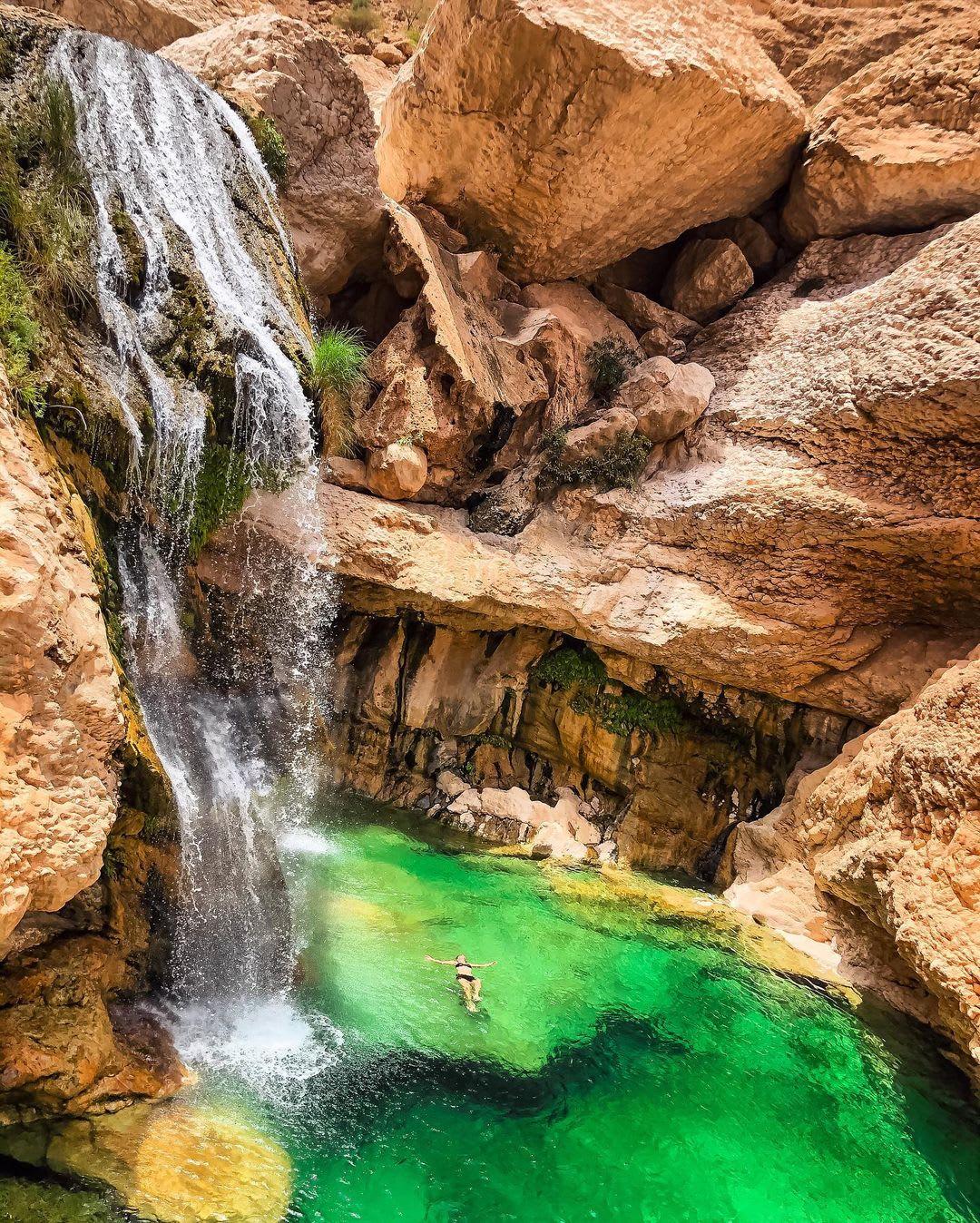شلال وادي العربيين في عمان