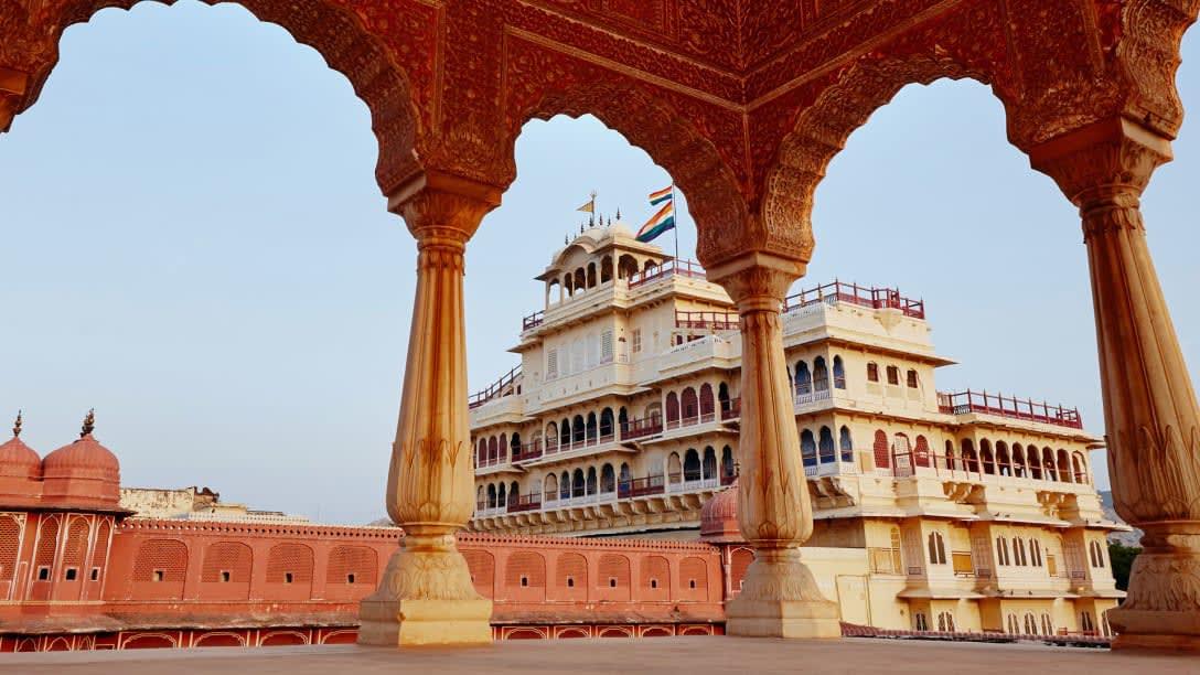 قصر مدينة جايبور
