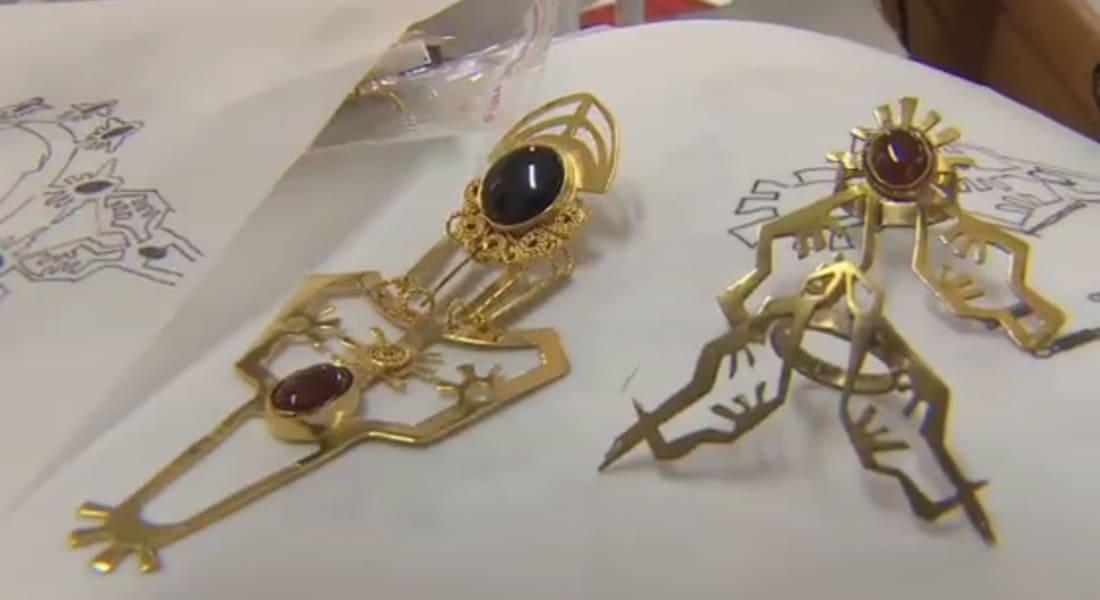 عزة فهمي تفتتح مدرسة لتصميم المجوهرات