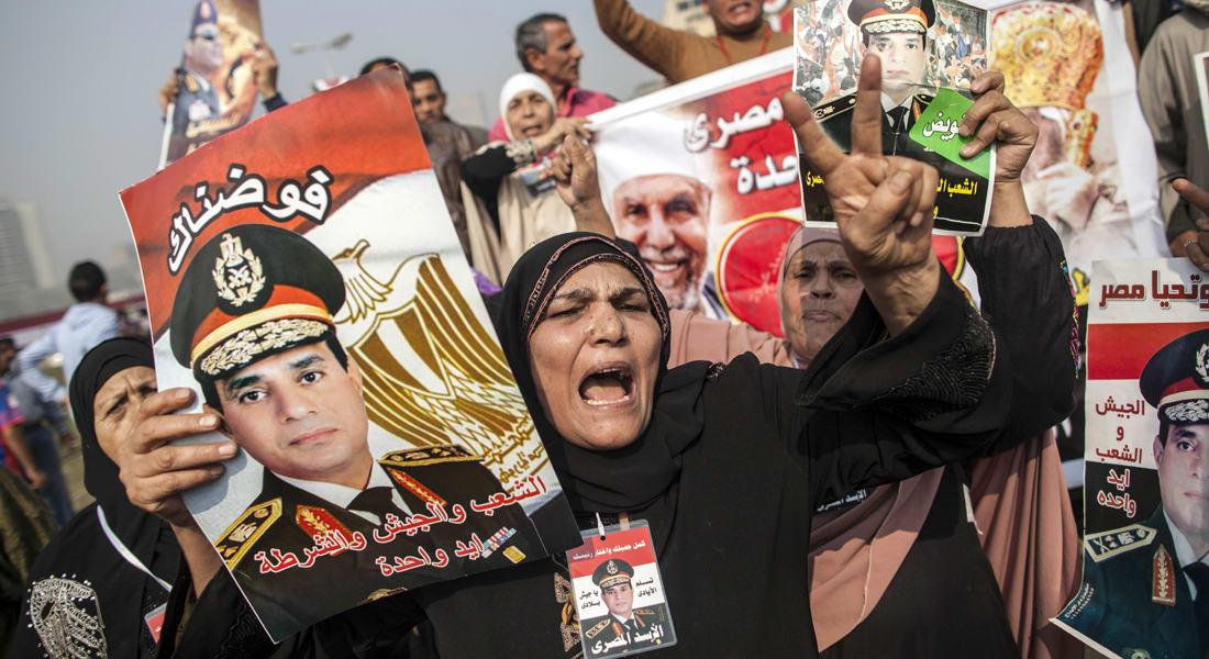 السيسي يقترب للرئاسة.. من لواء إلى مشير في 18 شهراً