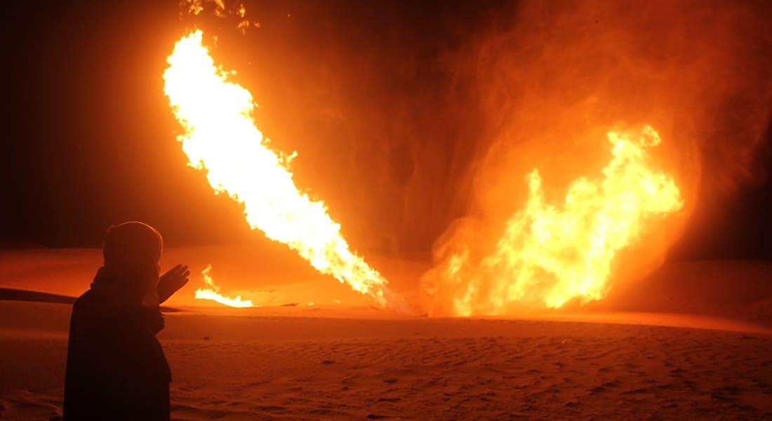 للمرة الـ19.. تفجير خط نقل الغاز بشمال سيناء