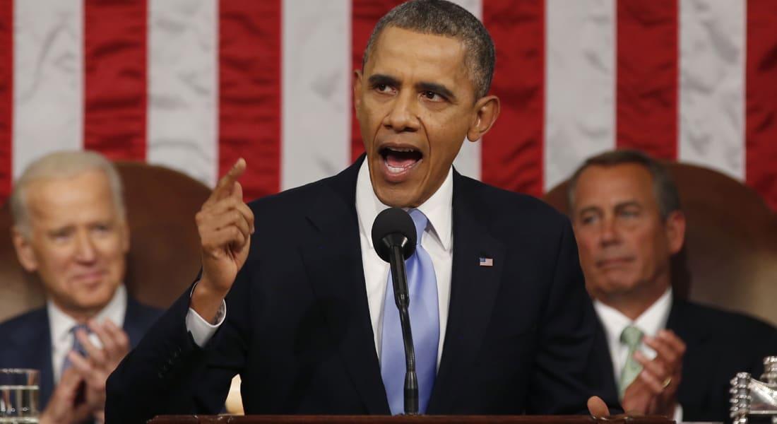 أوباما: خطر القاعدة يزداد وسندعم المعارضة السورية ولا عقوبات لإيران