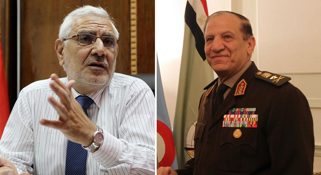 مصر: أبوالفتوح يدرس ترشحه ومنسق حملة عنان ينتقد تأليه السيسي