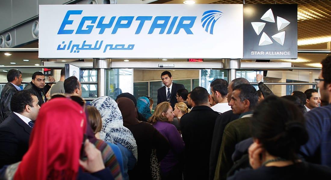 حريق بطائرة مصرية بعد إنزال الركاب بمطار بكين