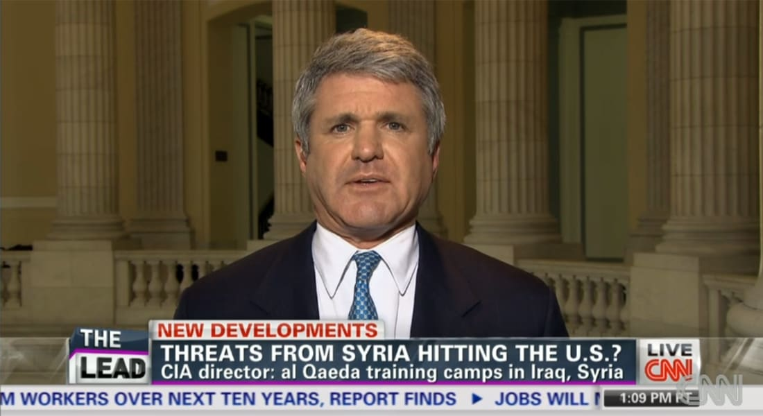 نائب أمريكي لـCNN: القاعدة بسوريا قد تهاجم أمريكا وأولمبياد سوتشي