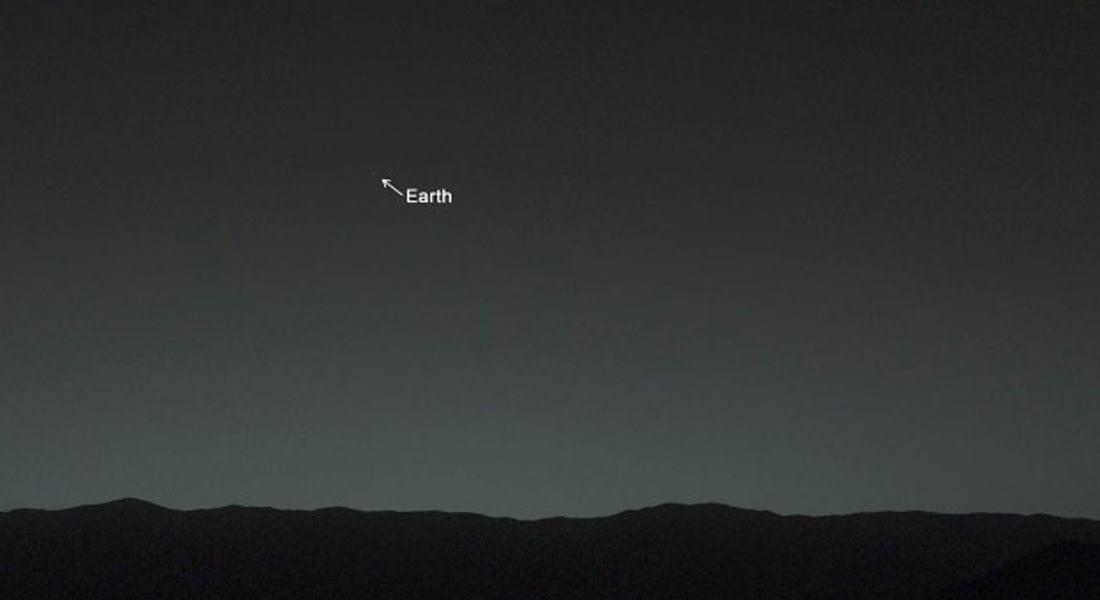 هكذا يبدو كوكبنا الأرض من على بعد 100 مليون ميل