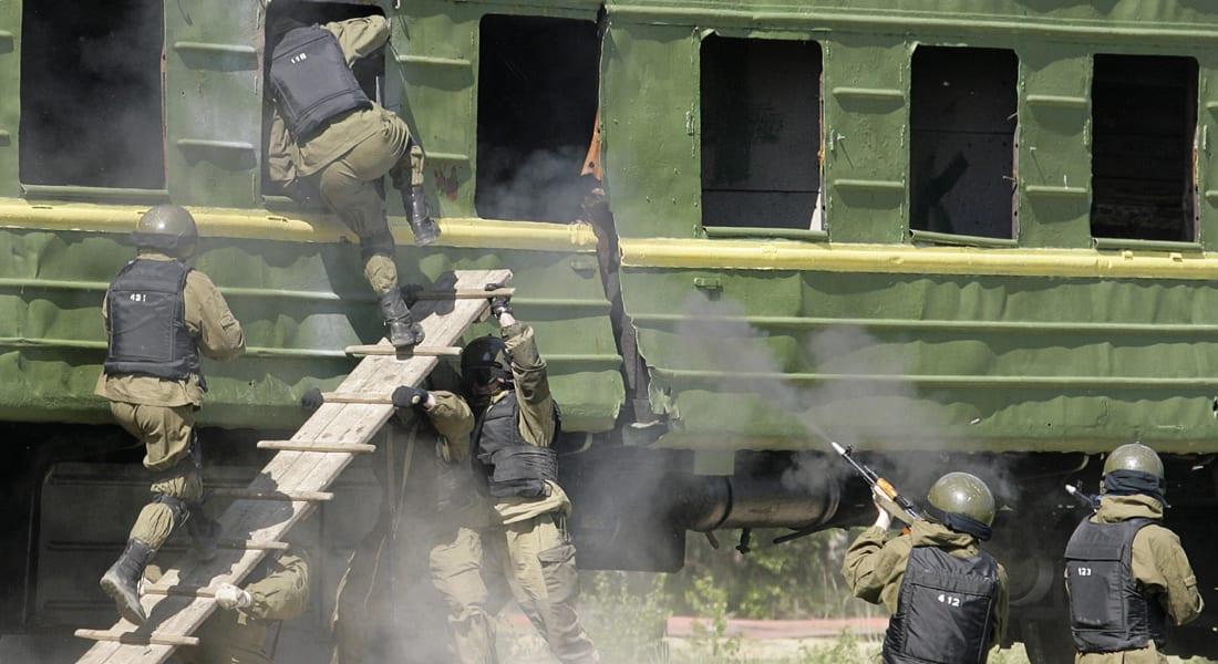 القوات الخاصة الروسية تقتل 5 من المشتبه بانتمائهم لمليشيا بمحج قلعة