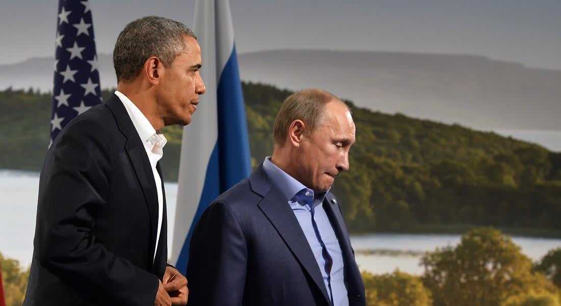 ما الذي دار في الاتصال بين أوباما وبوتين بشأن أوكرانيا؟