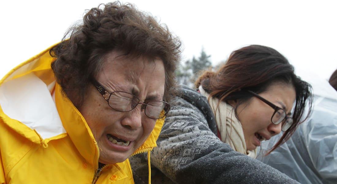 كوريا: ربان السفينة لم يكن يقودها وقت الحادث وارتفاع الضحايا إلى 28
