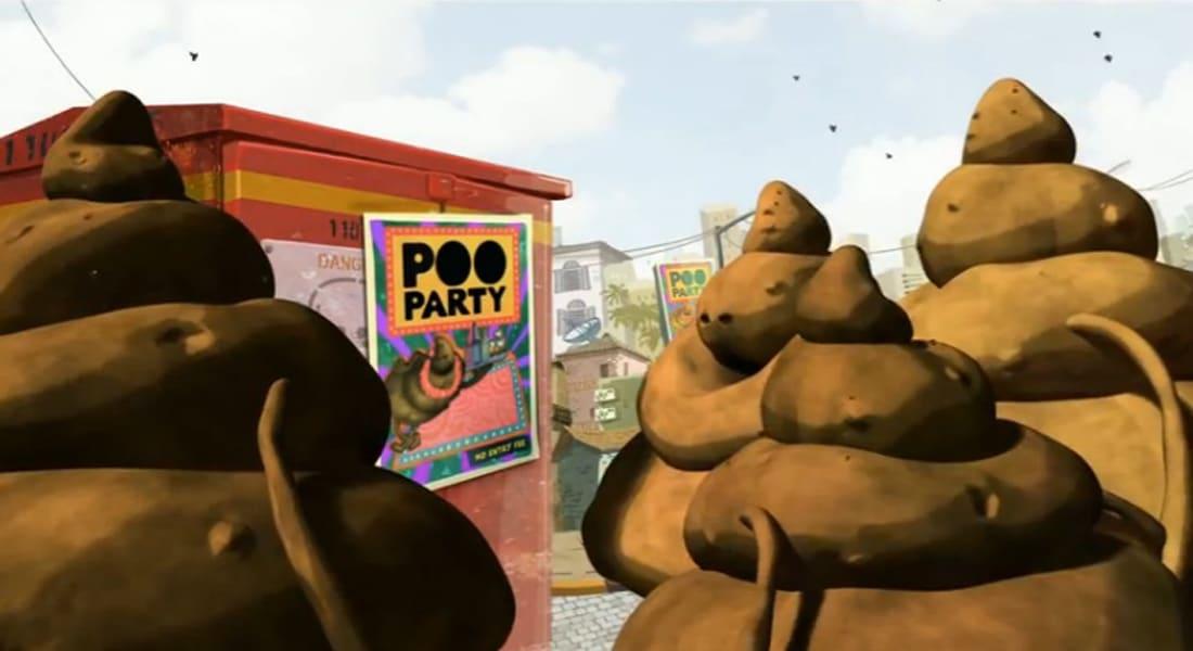 """""""مستر بوو"""" غائط عملاق يطارد 620 مليون هندي بلا مراحيض"""