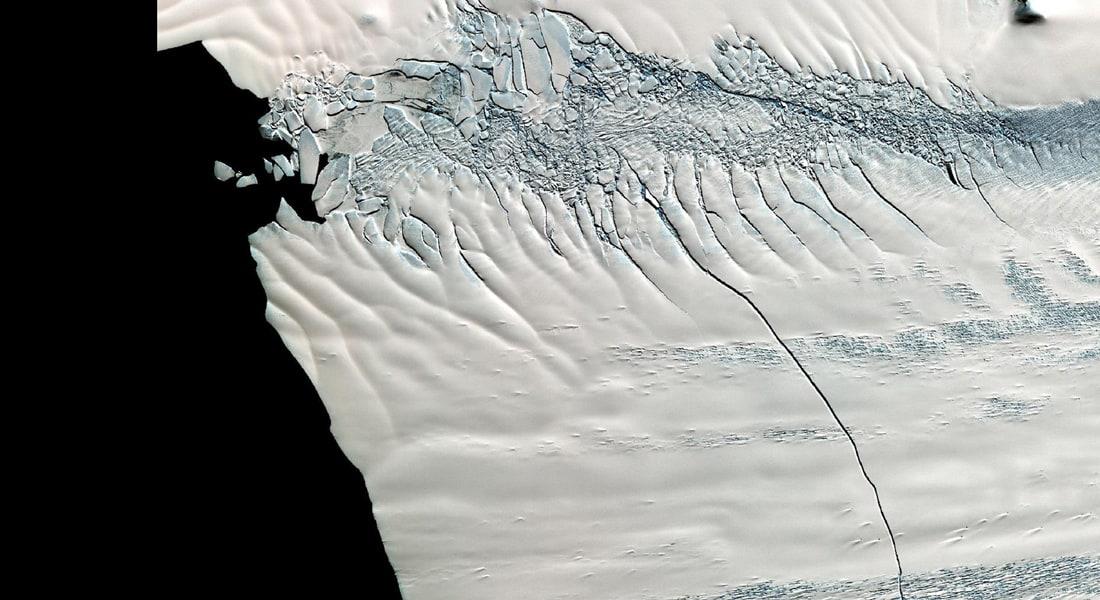 جبل جليدي مساحته 255 ميلا مربعا يتحرك بعيدا عن القطب الجنوبي