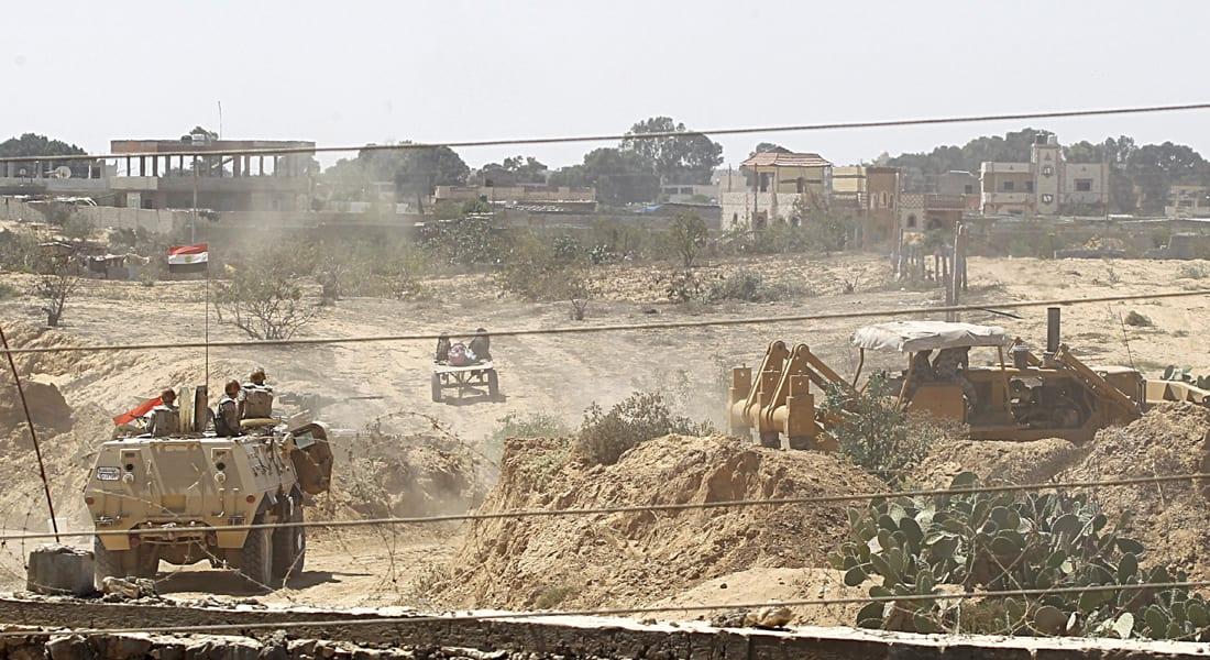 الجيش المصري يؤكد سيطرته على الوضع  بسيناء