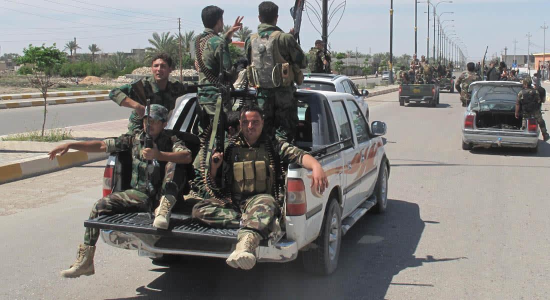 """العراق يدمر قافلة تابعة لـ""""داعش"""" داخل الأراضي السورية"""