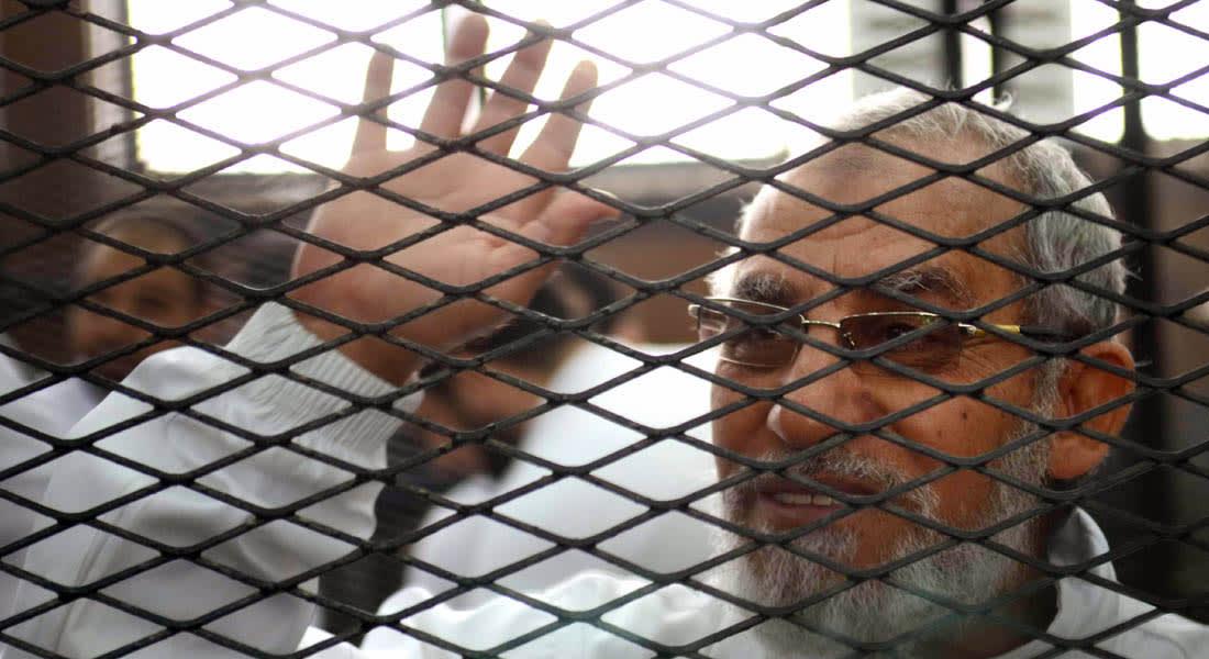 مصر: أحكام بالإعدام على أكثر من 700 إخواني يتقدمهم المرشد والمؤبد لـ492