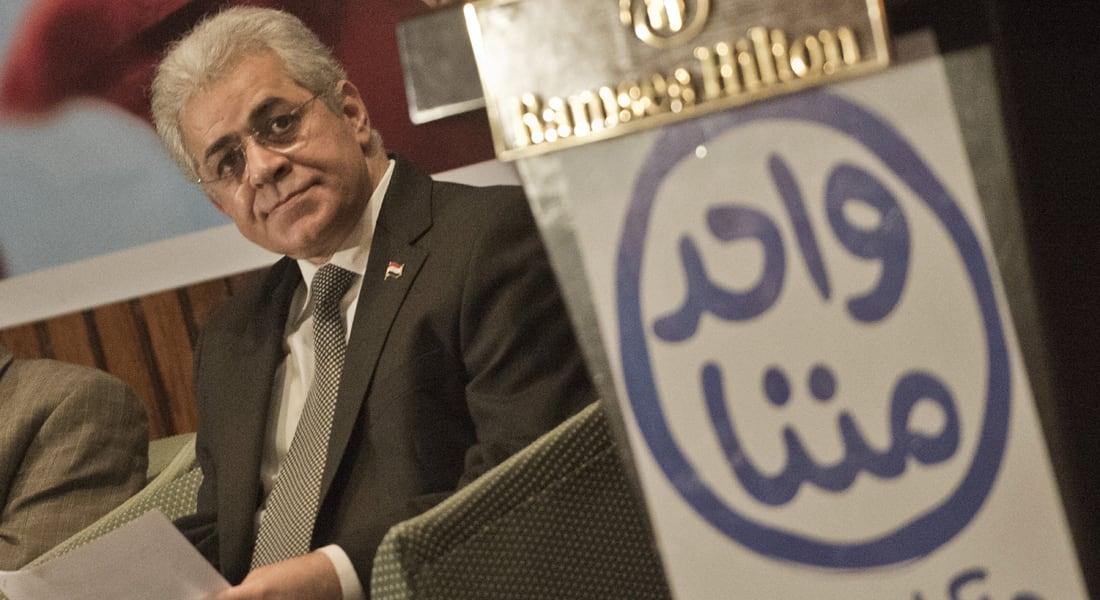 صباحي يطلق حملته الانتخابية : مكافحة الإرهاب لا تتم بحلول أمنية فقط
