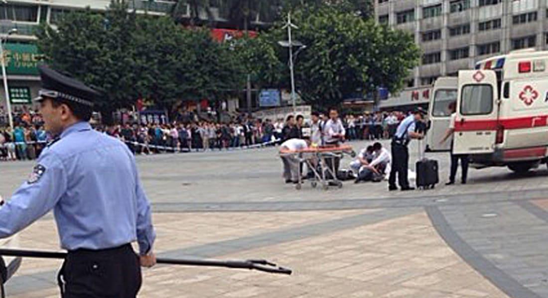 الصين: 6 جرحى في ثاني هجوم على محطة قطار خلال أسبوع