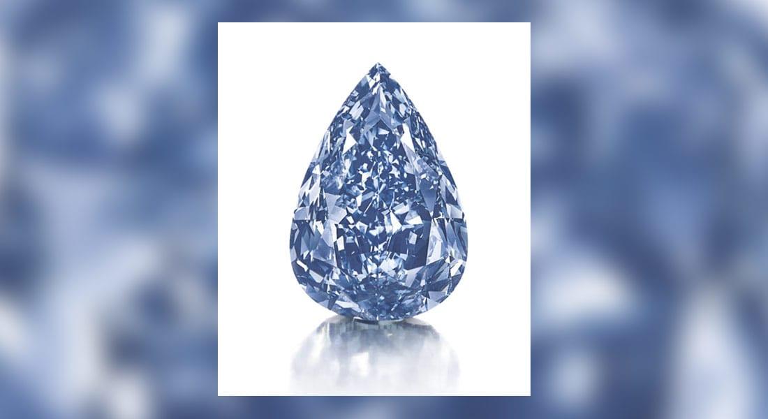 كم تساوي أكبر ماسة زرقاء في العالم؟.. الإجابة بعد أسبوع