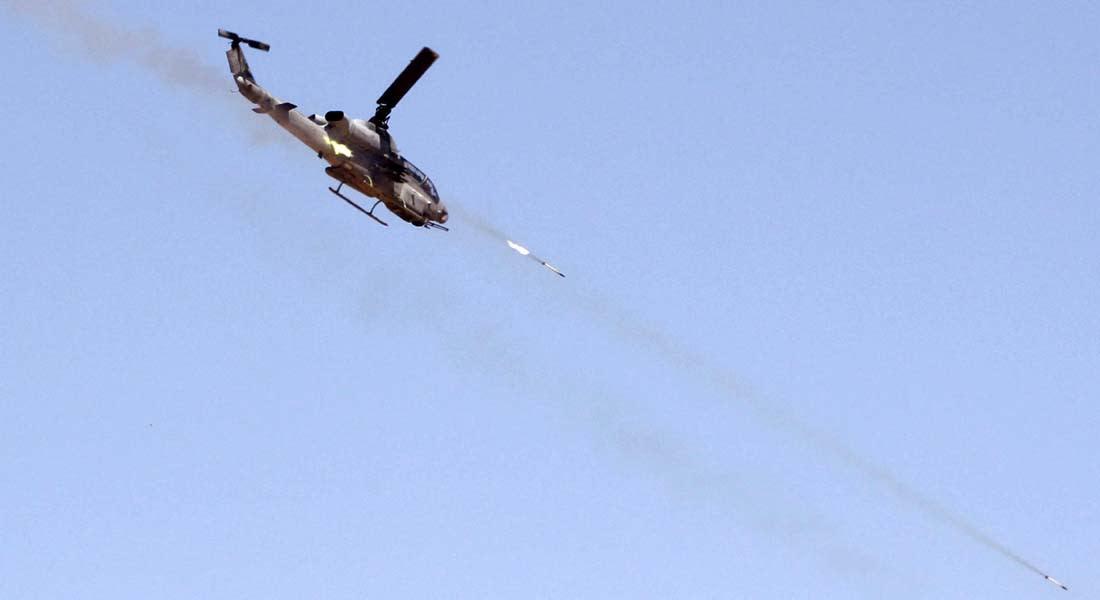 الأردن: مقاتلة عامودية تدمر سيارتين تسللتا من سوريا