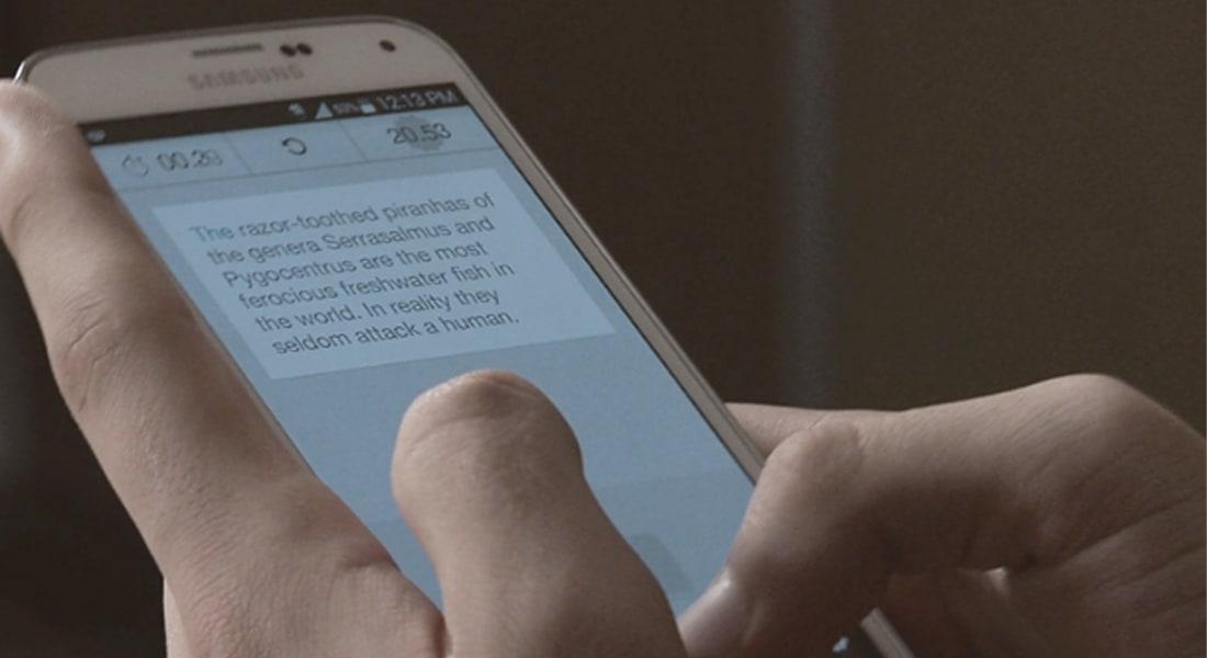 """مراهق أسرع شخص على وجه الأرض في """"الرسائل النصية"""""""