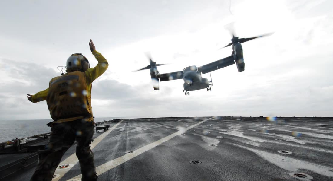 أمريكا تنشر مزيدا من العتاد العسكري بإيطاليا لعمليات إجلاء محتملة من ليبيا
