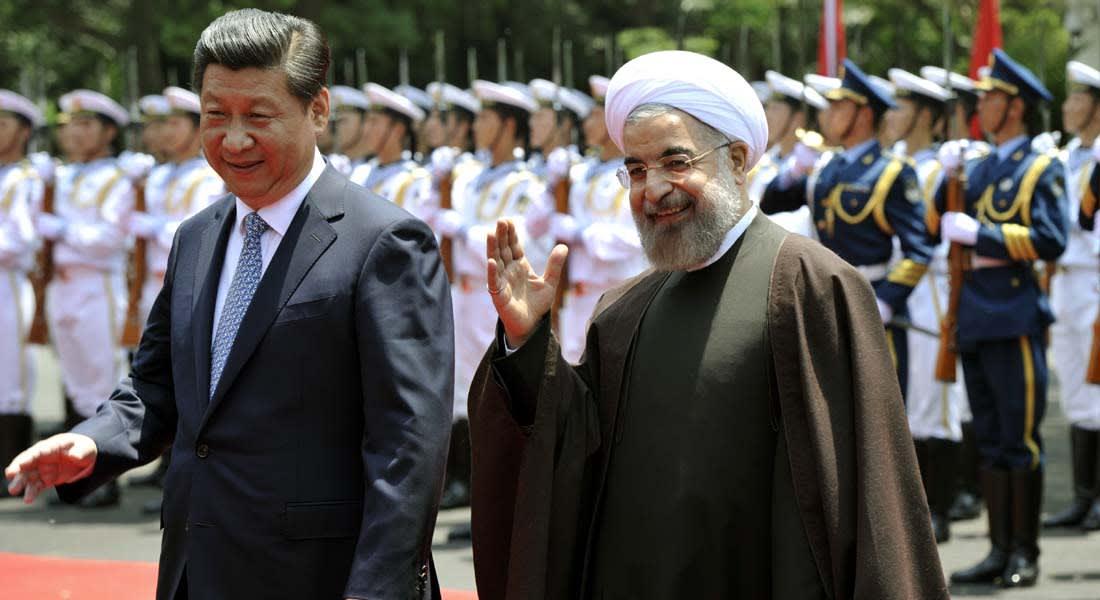 روحاني يعبد طريق الحرير من شانغهاي إلى القوقاز