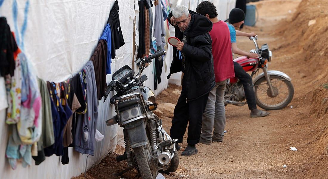 وكالة: حريق كبير بمخيم للاجئين السوريين بالبقاع