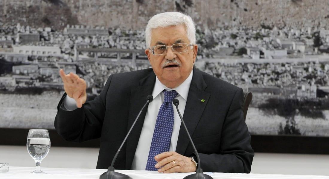 بعد المصالحة الفلسطينية.. عباس يبارك للسيسي: فوزه دعم للقضية