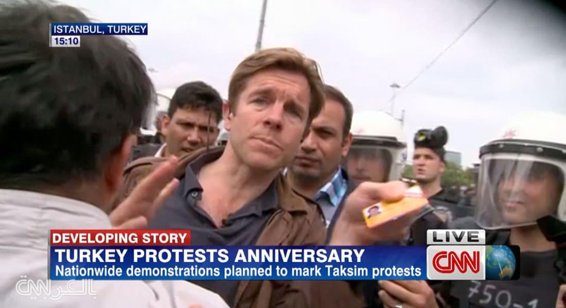 مراسل CNN بإسطنبول يتعرض لمضايقات من قبل الشرطة التركية