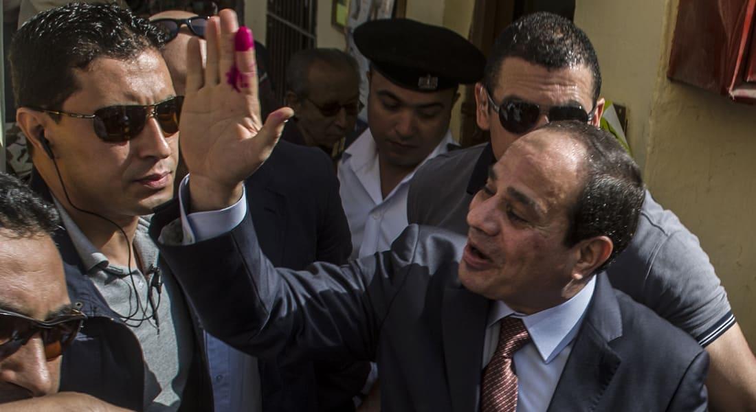 النتيجة النهائية.. السيسي رئيساً لمصر بـ96.91 % مقابل 3.09 % لصباحي