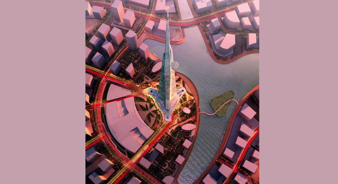 أكبر وأطول وأسرع مصعد لبرج المملكة المفترض أن يكون الأطول بالعالم