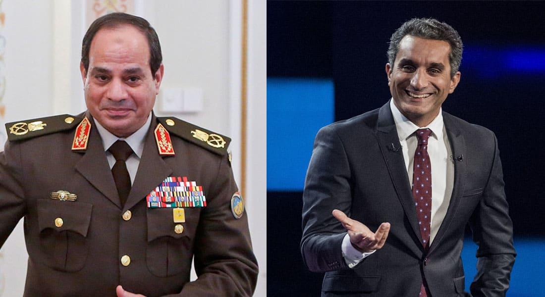 """صحف: هل يطلب السيسي من باسم يوسف العودة في """"البرنامج؟"""""""
