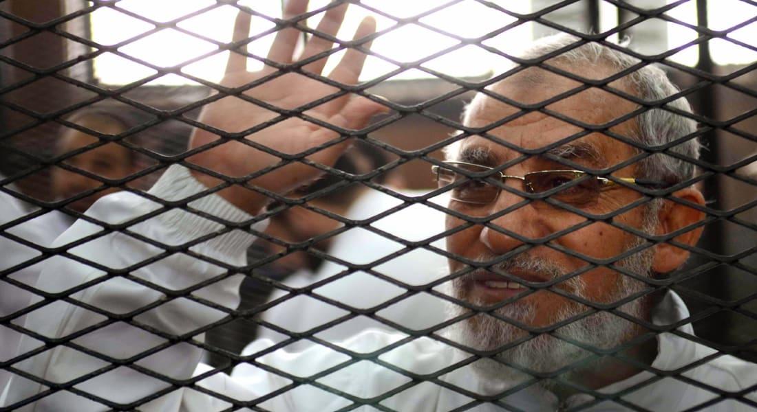 الحكم  على محمد بديع بقضية قطع طريق قليوب السبت