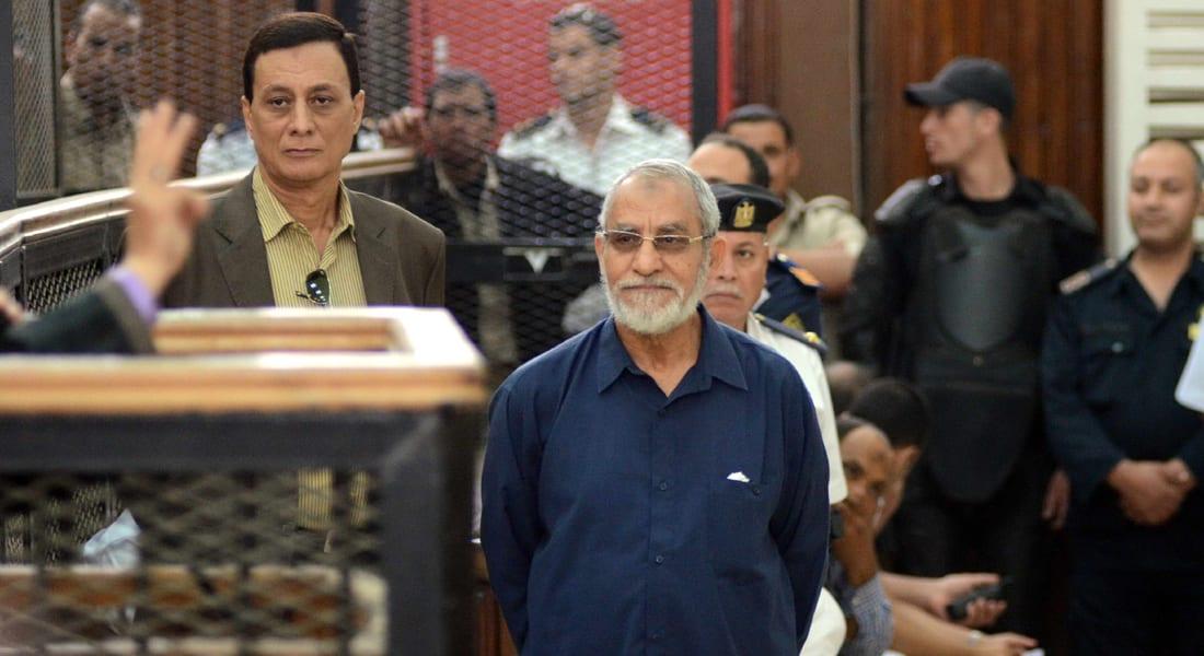 إحالة أوراق محمد بديع و 9 متهمين في قضية أحداث قليوب إلى المفتي