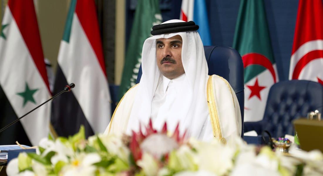 أمير قطر يهنئ بـ 30 كلمة والسيسي يشكره ببرقية من 22 كلمة