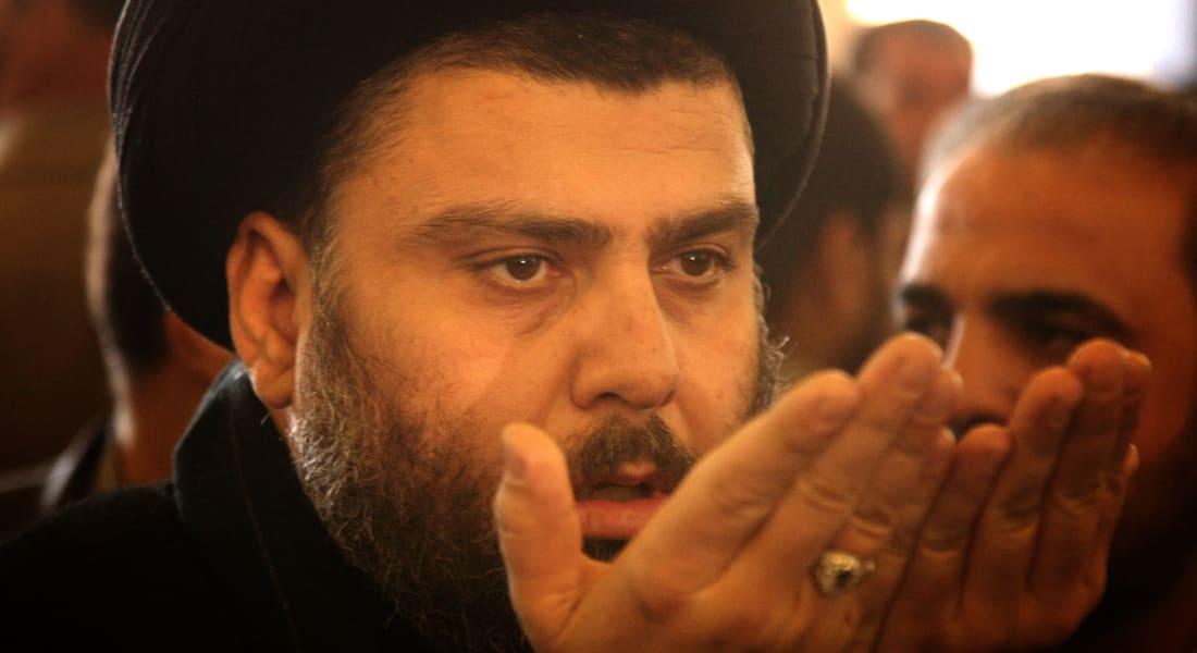 """مقتدى الصدر يدعو لاستعراض عسكري موحد """"لإرهاب العدو"""" بمحافظات العراق"""