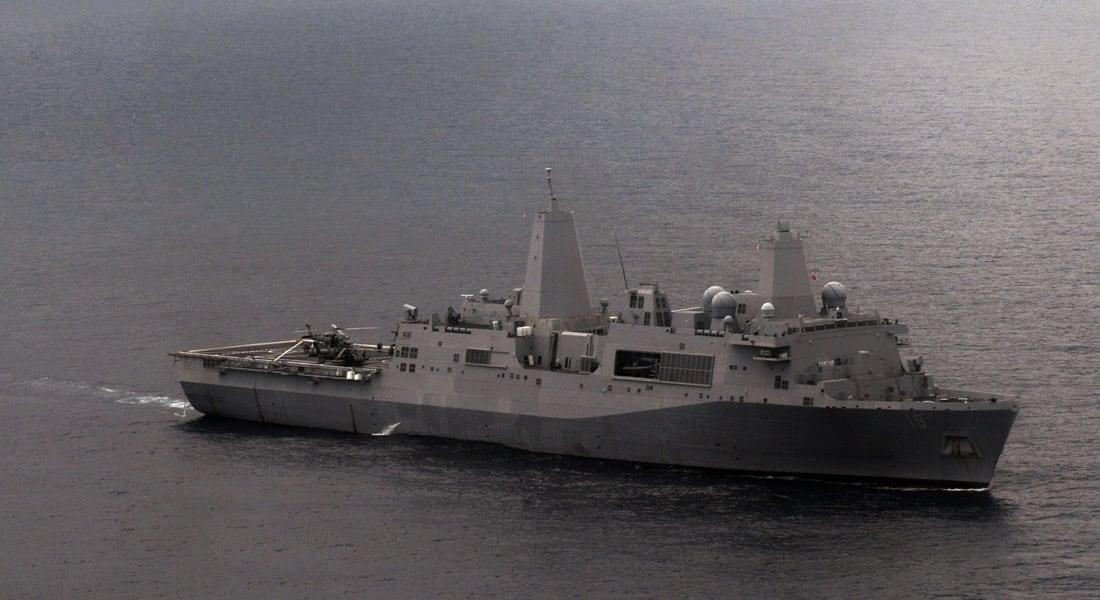 مصادر لـCNN: سفينة أمريكية على متنها 550 مارينز تدخل مياه الخليج بغضون ساعات