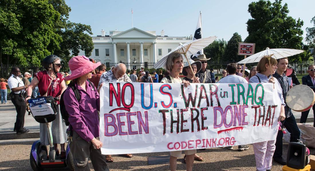 تحذير لأمريكا.. الوضع في العراق سيفرز 1000 بن لادن