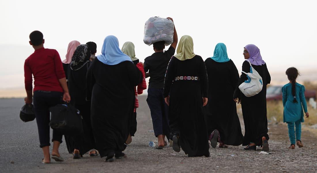 """مليون لاجئ عراقي يفرون من حرب """"داعش"""" وقوات حكومة المالكي"""