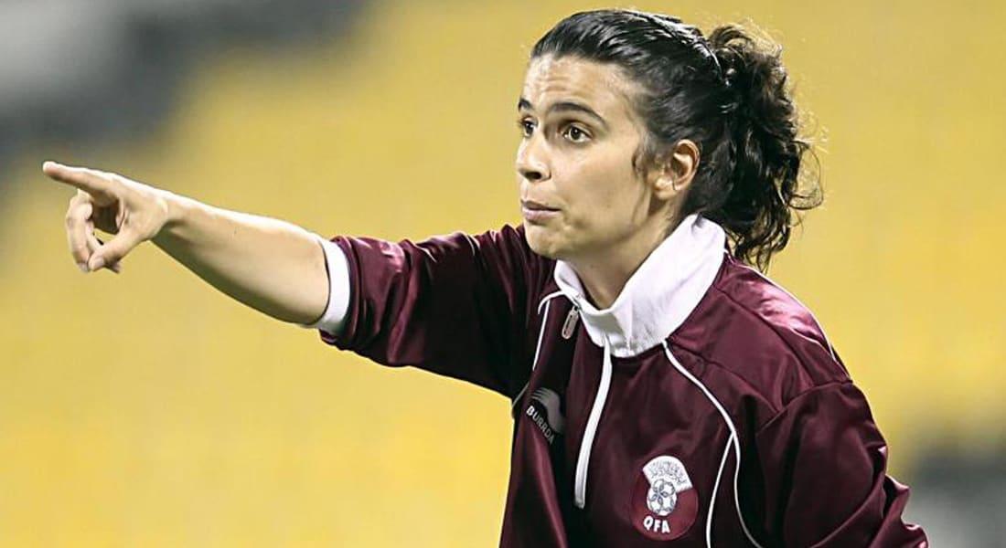مدربة منتخبي قطر وإيران تتراجع عن تدريب فريق رجالي فرنسي محترف